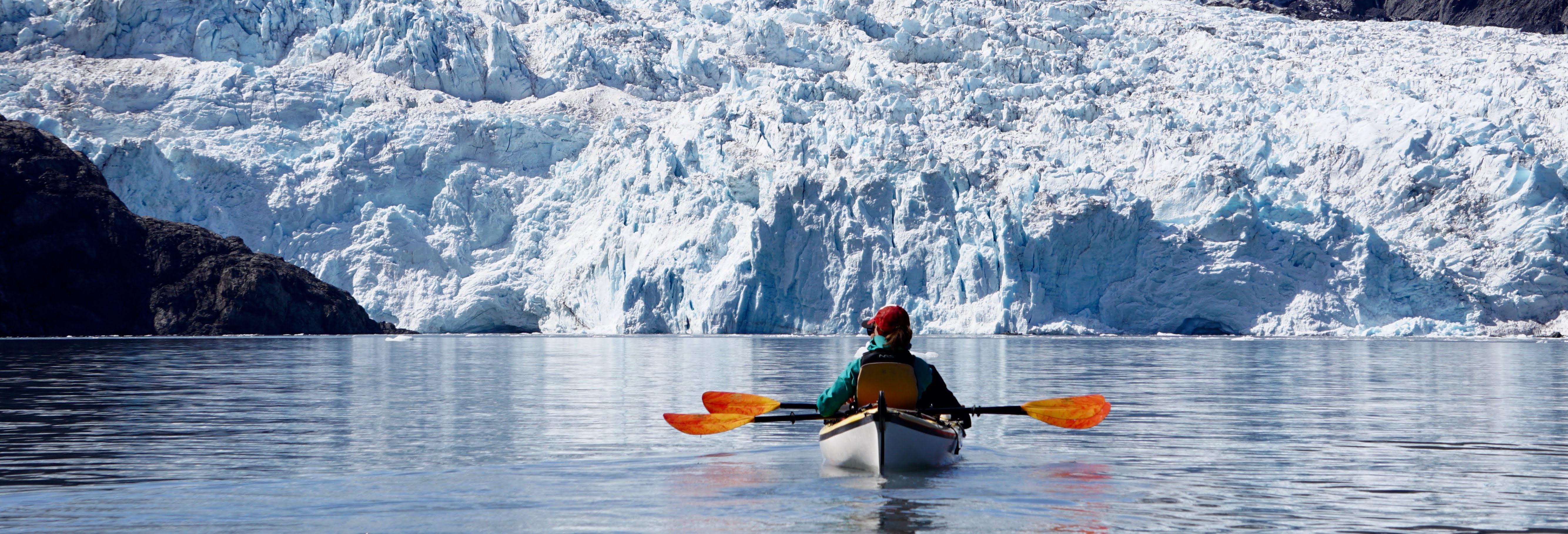Glacier Kayaking in Aialik Bay! 2021