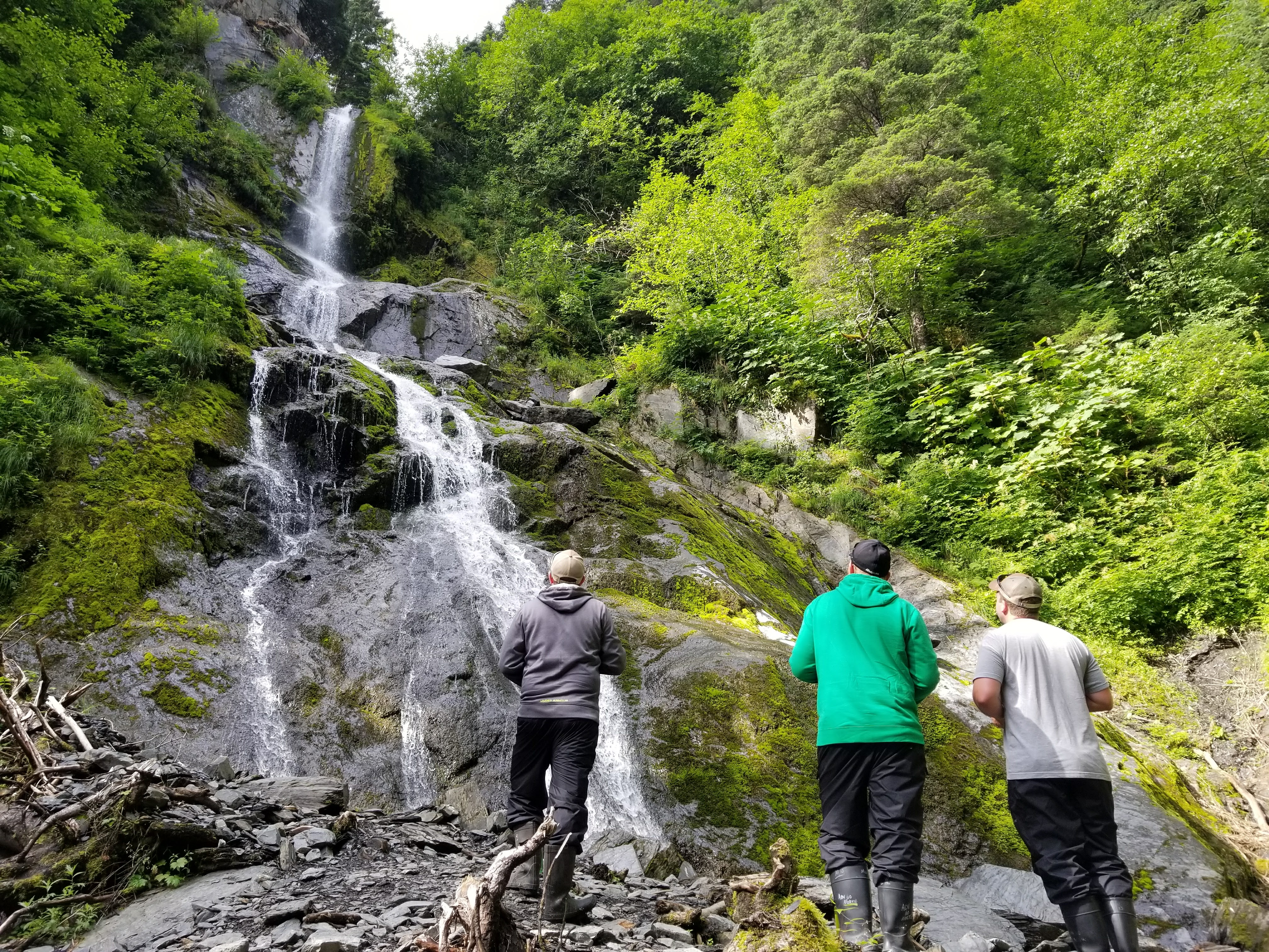 Bridal Veil Falls Kayak in Alaska