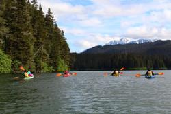Kayaking in Bear Lake