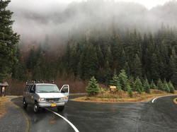 SHUTTLE SERVICE TO AND FROM EXIT GLACIER DAILY FROM YOU SEWARD AREA LODGING