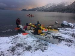 Winter Kayaking!