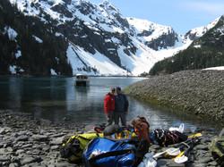Camping at Alaska