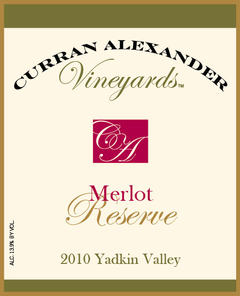 This stylish estate grown reserve merlot exhibits flavors of cherry, cedar, tobacco, and spice. Well integrated tannins and ample acidity provide structure and balance.