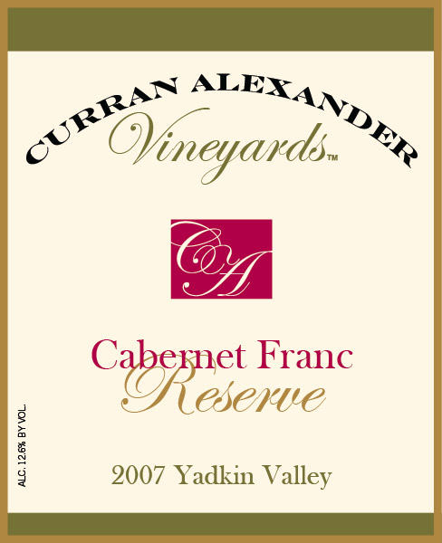 This estate grown reserve cabernet franc displays black fruit, spice, and tar flavors.  Firm tannins and balanced acidity provide ample structure.