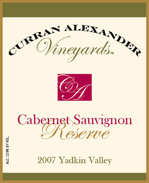 This estate grown reserve cabernet sauvignon displays blackfruit, blueberry, graphite, cedar, and menthol flavors and aromas.  Chewy tannins provide excellent structure.