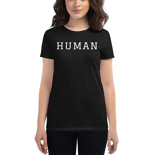 Women's Team Human T-Shirt Jersey