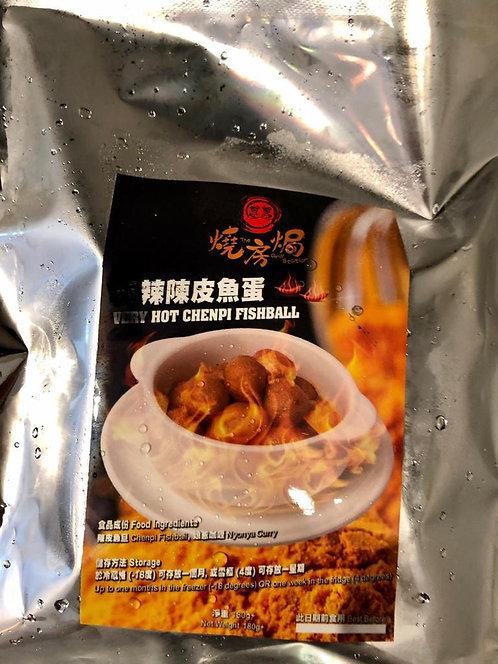 辣陳皮魚蛋 180g