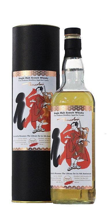 "Ardmore ""Tamashii"" Single Malt Scotch Whisky 9 Years Old"