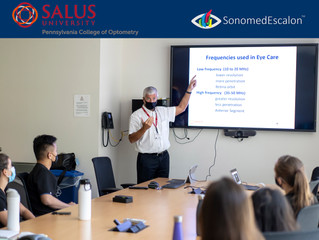 Sonomed Escalon proud to be part of the educational courses at the Salus University