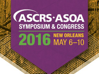 Visit Us at ASCRS 2016 in New Orleans