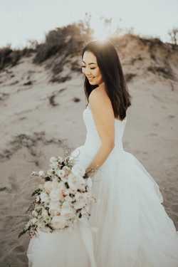 Winter Beach Elopement