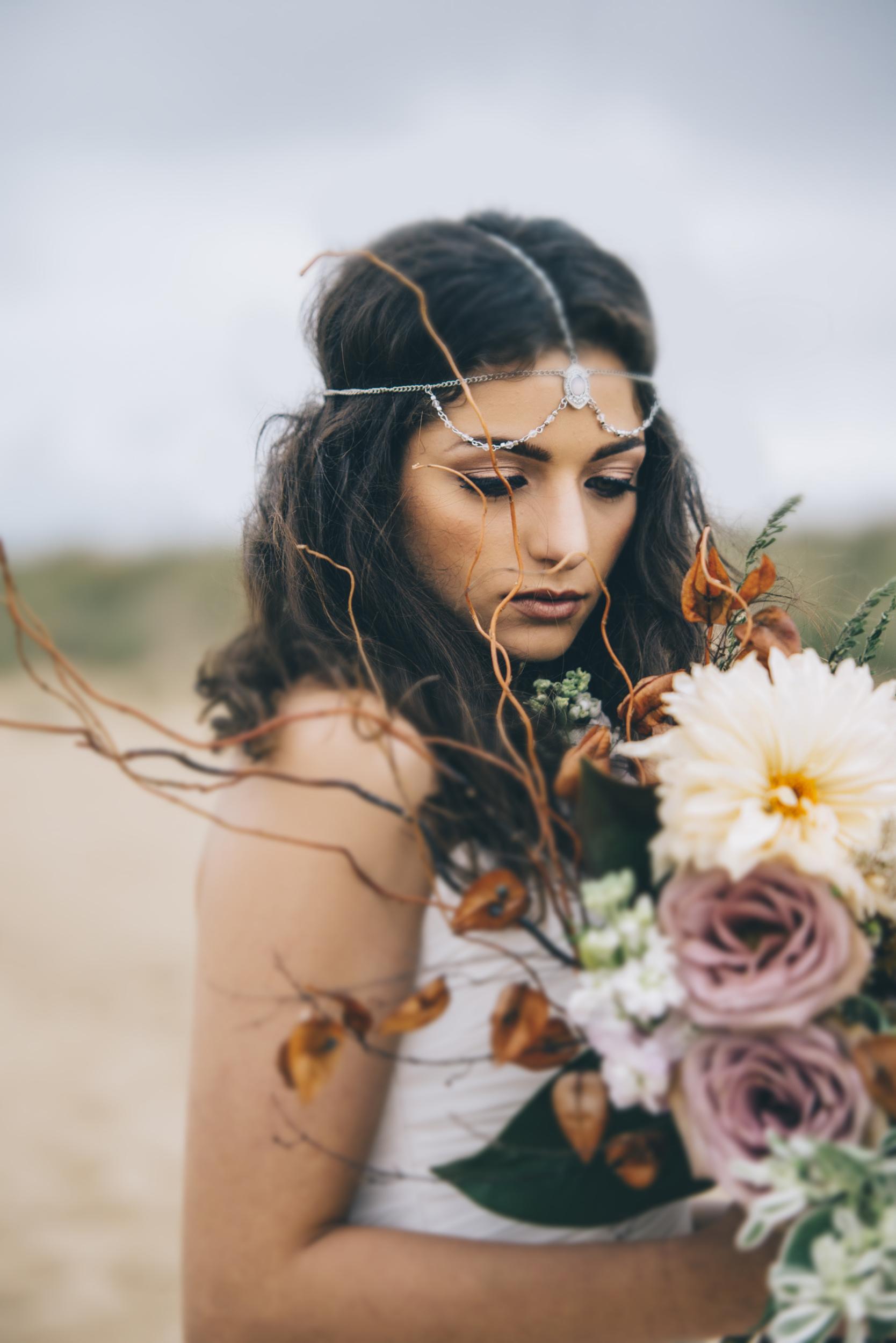 Windy Prairie | Beach Wedding