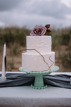 Windy Prairie | Beach Wedding