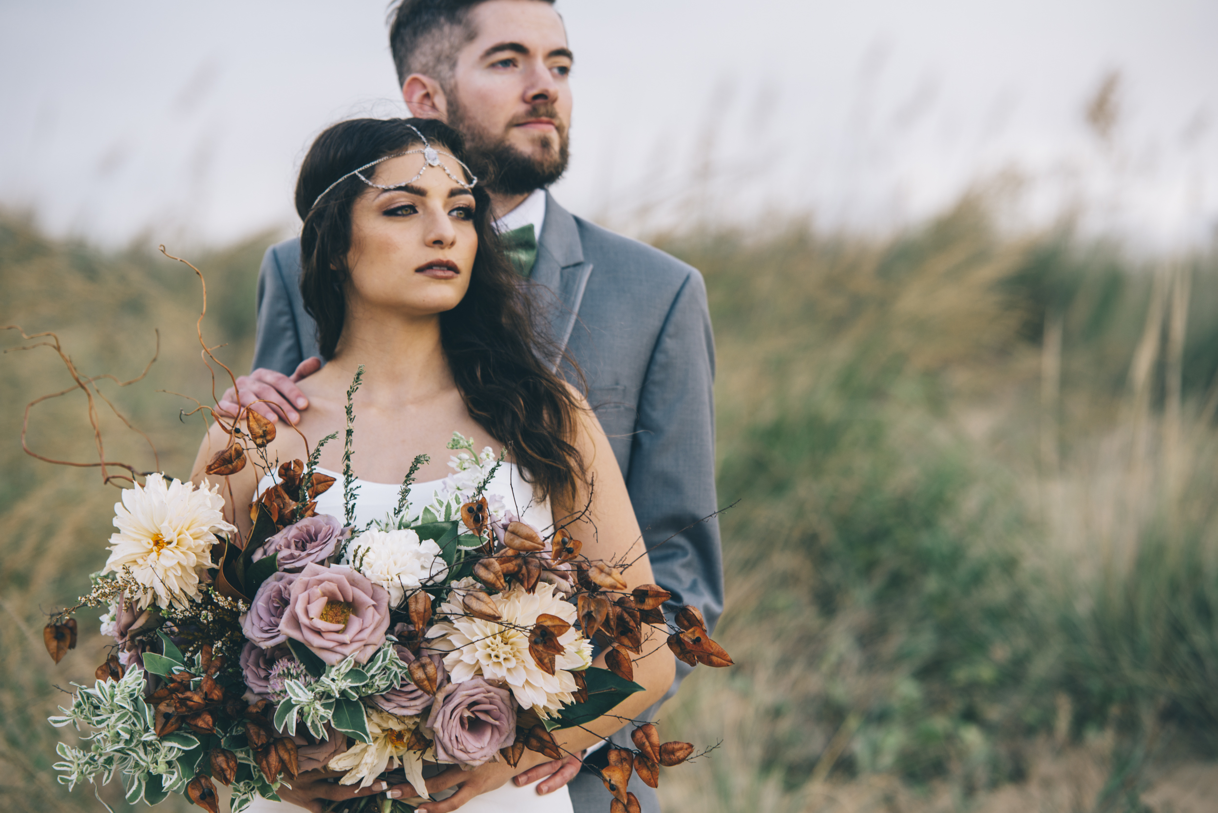Windy Prairie: Beach Wedding