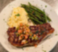 Special Entree tonight_ Grilled Sirloin