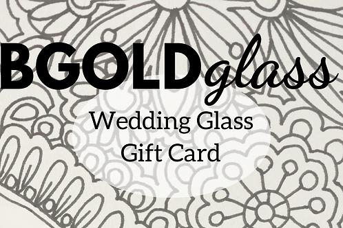 Wedding Glass Gift Card