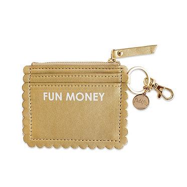 FUN MONEY CARD HOLDER KEYCHAIN