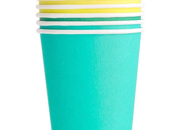 rainbow set cups