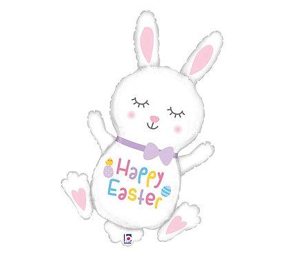 hopping easter bunny