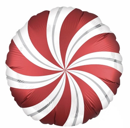 Candy Cane Balloons - 18 inch Candy Balloon