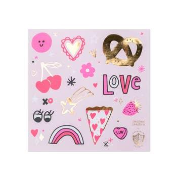 Love Notes Sticker Set - 4 pk