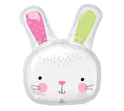 Hello Bunny Balloon Easter