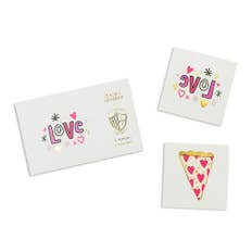 Love Notes Temporary Tattoos - 2 pk