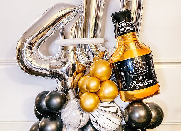 Aged to Perfection - Creative Balloons