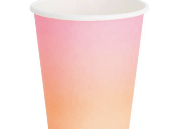 sunset cups