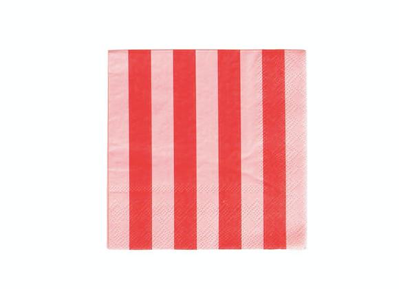 cocktail napkins stripes