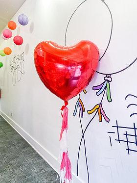 """Jumbo Heart 36"""" Balloon"""