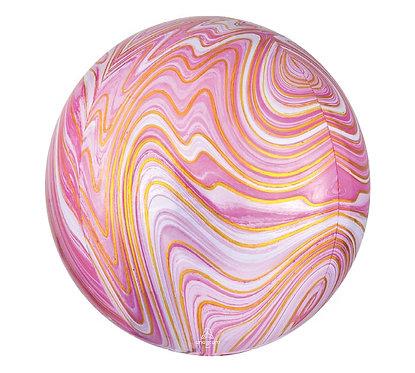 Pink Marble Orbz