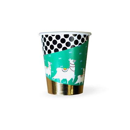 cactus llama party cups