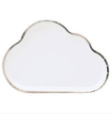 in the clouds plates