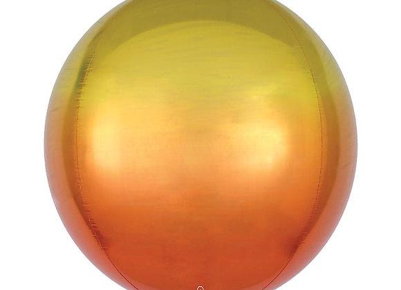 Yellow and Orange Ombre Orbz