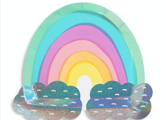over the rainbow large plates