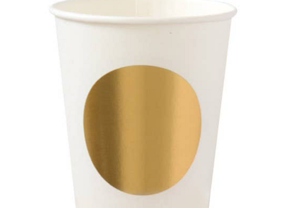 gold dot cups
