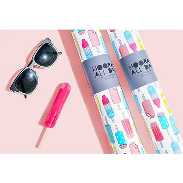 Popsicle Wrapping Paper Sheet