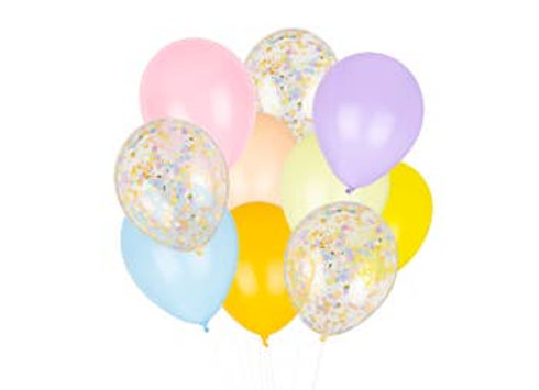 Peace & Love Classic Balloons