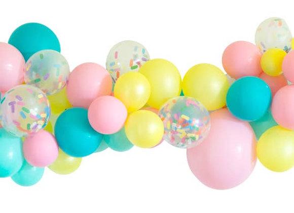Ice Cream Balloon Garland