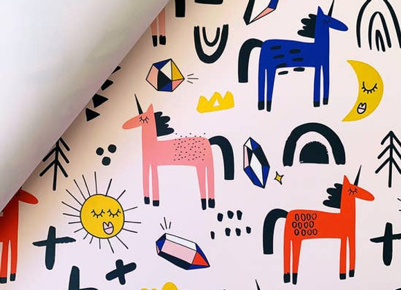 Unicorns Wrapping Paper