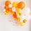 Thumbnail: halloween garland piñata/ candy filled