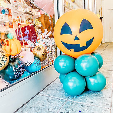 Jack or Treat Balloon with Candy