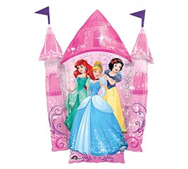 Disney Princess Balloon Castle 35""