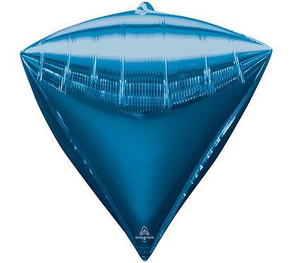 bright blue diamond