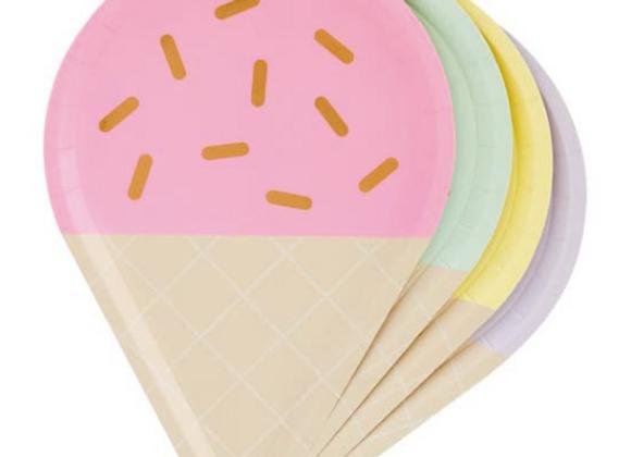 gelato plates