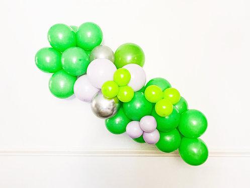 lime green garland