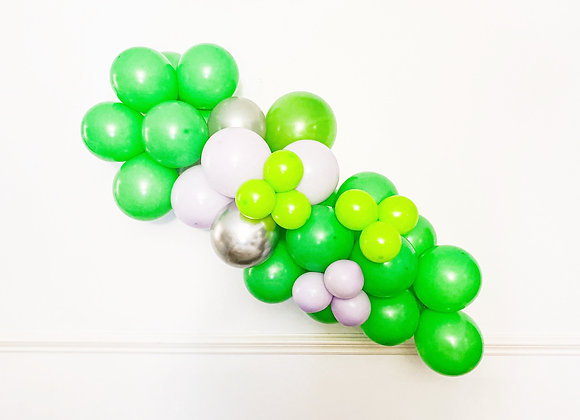 lime green garland