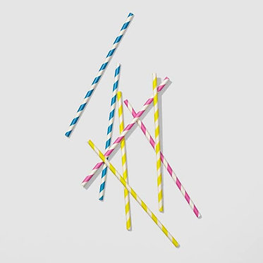 Sip of Summer Paper Straws