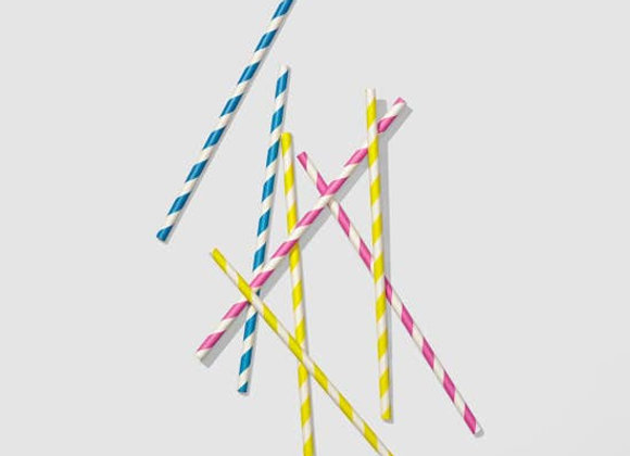 Sip of Summer Paper Straws
